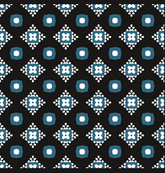 abstract seamless flower pattern geometric simple vector image