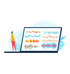 Amplitude sound audio equalizer recording vector