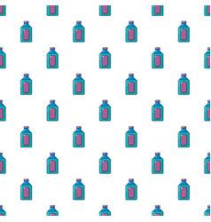 Plastic soap bottle pattern seamless vector