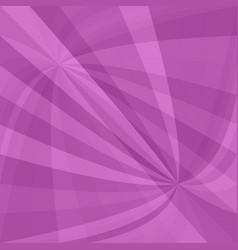 Purple curved ray burst background - graphic from vector