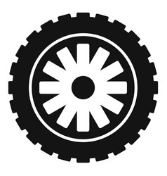 Rubber protector icon simple style vector