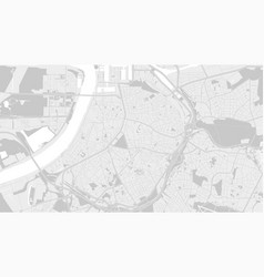White and light grey antwerp city area background vector