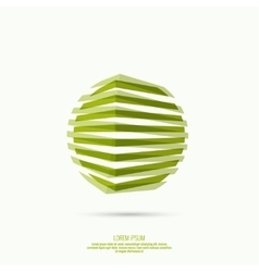 Abstract geometric circle figures vector