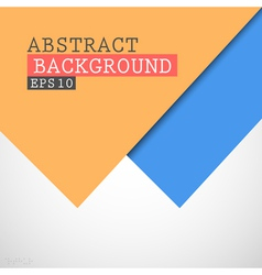 Abstract paper background vector