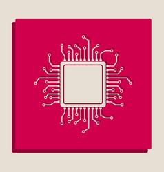 Cpu microprocessor grayscale vector