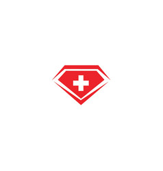 diamond logo design templates vector image