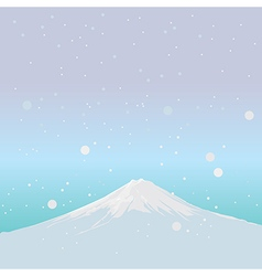 Fujiyama Landmark of JAPAN vector