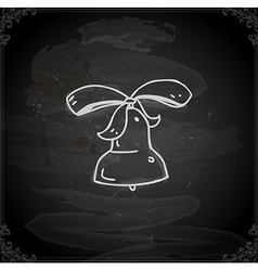 Hand Drawn Bell vector image