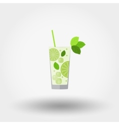 Mojito Cocktail icon vector image