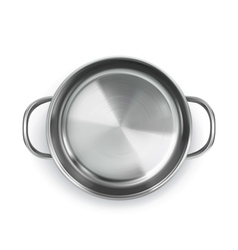 Pan top view object vector