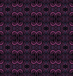 Seamless Vintage Lace Pattern vector image