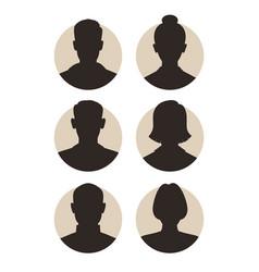 six people vector image