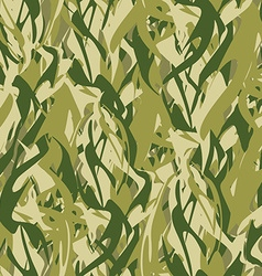 Military texture in form of fire Camouflage army vector image