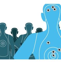 Shooting Targets vector image