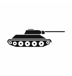 Tank icon simple style vector image