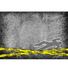texture grain grey murder vector image