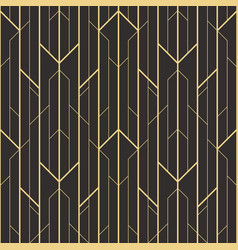 Abstract art deco seamless pattern 04 vector