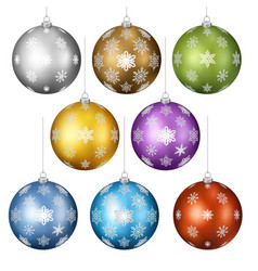 christmas toys set vector image