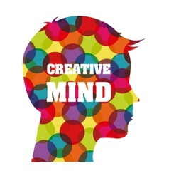 Creative mind vector