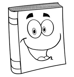 Fun learning book vector image