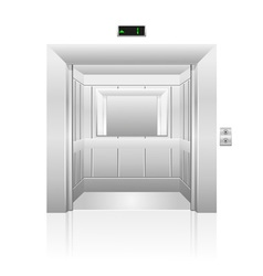 Passenger elevator 02 vector