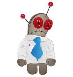Voodoo doll vector