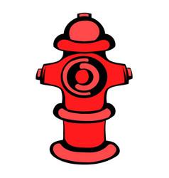 fire hydrant icon icon cartoon vector image vector image