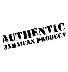 Authentic jamaican product stamp vector