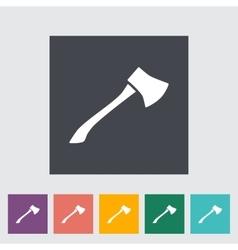 Axe icon vector image vector image