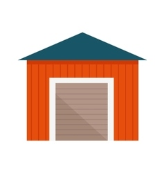 Building with Lift Gates vector