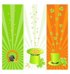 Ireland national banners vector image