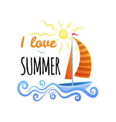 summer signs and banners vector image