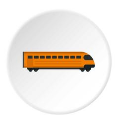 Train icon circle vector