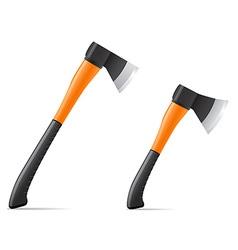 tool axe 03 vector image