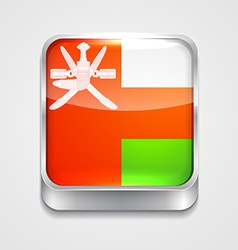 flag of oman vector image