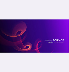 Abstract digital wave particles background big vector