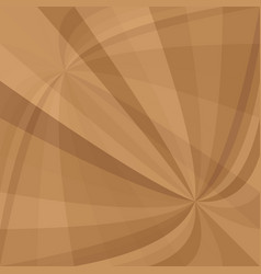 Brown abstract curved ray burst background - from vector