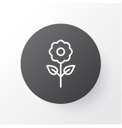 Floral icon symbol premium quality isolated bloom vector
