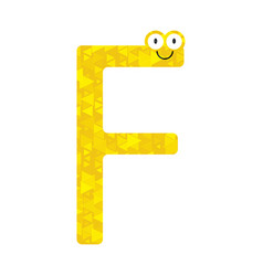 Letters of the english alphabet vector