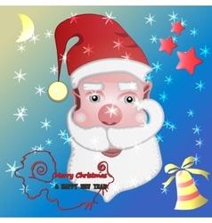 Santa 2 vector