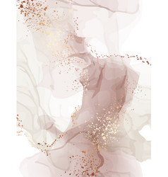 Watercolor background pastel color water splash vector