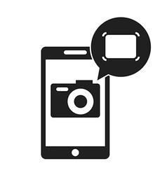 camera app vector image