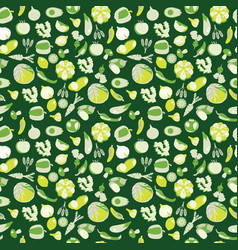 eco healthy organic vegetarian food background vector image vector image