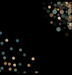 abstract background confetti transparent dots vector image