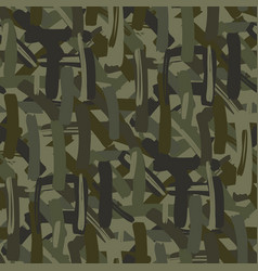 abstract camouflage repeats seamless pattern vector image