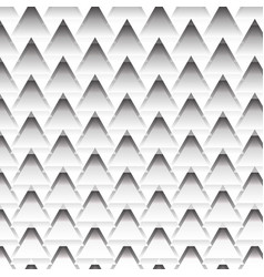 black and white zig zag line texture background vector image