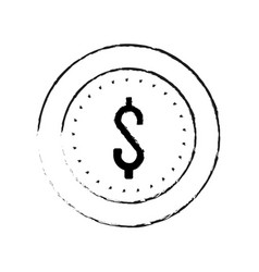 coin icon image vector image