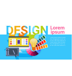 Graphic web design creative designer work vector