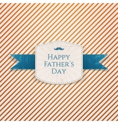 Happy Fathers Day modern graphic Badge vector image
