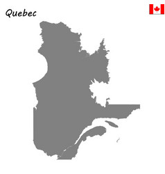 Map province canada vector